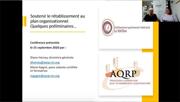 conférence AQRP